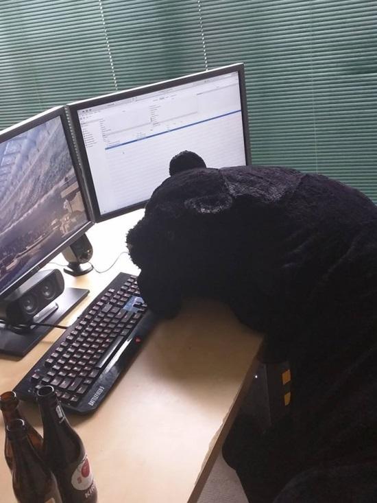 LBS, hard at work